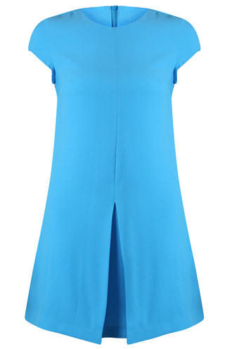 View Item Bold Colour Statement Dress in Blue