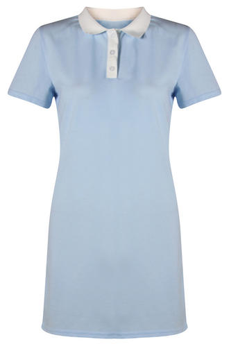 View Item Polo Shirt Contrast Collar Dress