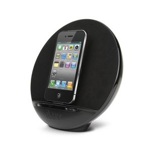 iLuv IMM289BLK Stereo Speaker iPhone/iPod Dock Black Preview