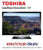"View Item Toshiba 40WL768 40"" 3D Ready Full HD LED TV Freeview HD"