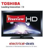 View Item Toshiba 46WL753B 46 Inch LED TV Full HD with FreeviewHD