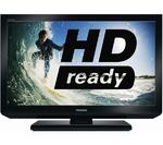 "View Item Toshiba Regza 32EL833B 32"" LED TV HD Ready 720p Built-in Freeview & USB Playback"