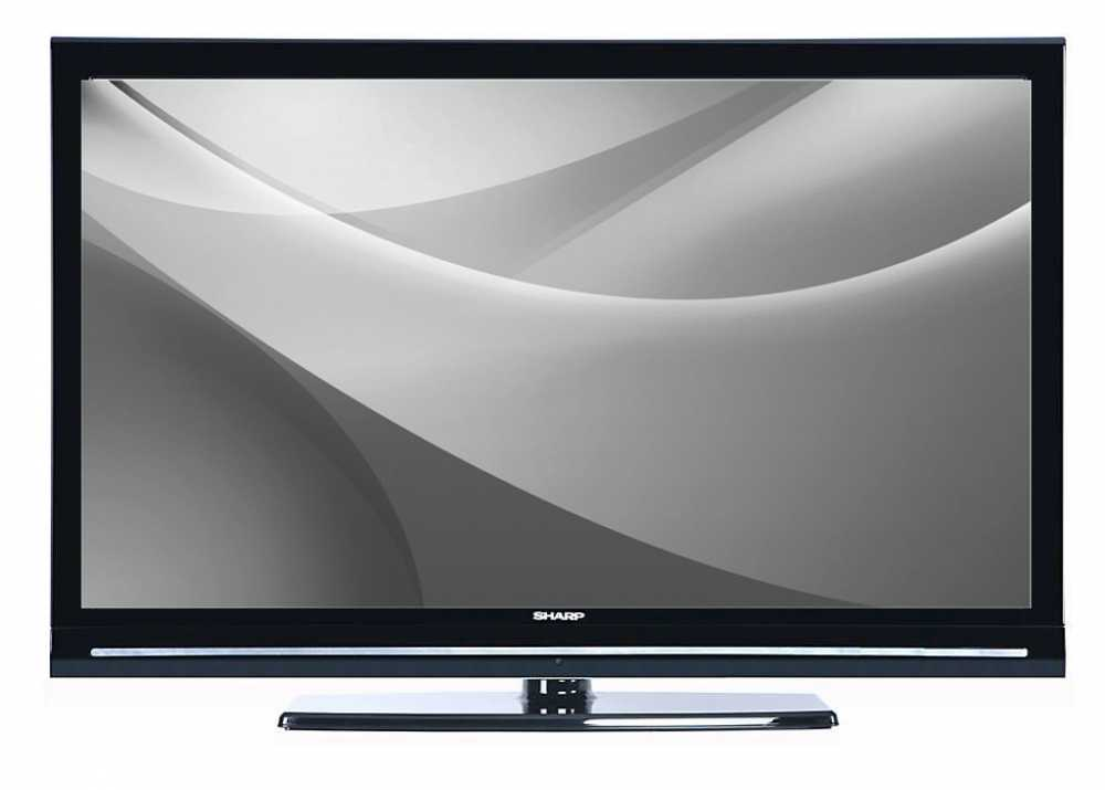 sharp lc32sh130 32 lcd tv hd ready 720p with built in freeview usb black ebay. Black Bedroom Furniture Sets. Home Design Ideas