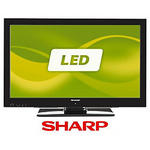 View Item Sharp Aquos LC32LE511E 32-inch HD Ready 1080p LED Backlight TV with HD Freeview