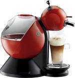 View Item NESCAF� Dolce Gusto by Krups KP210640 Coffee Machine Red 15 Bar Pressure Pump
