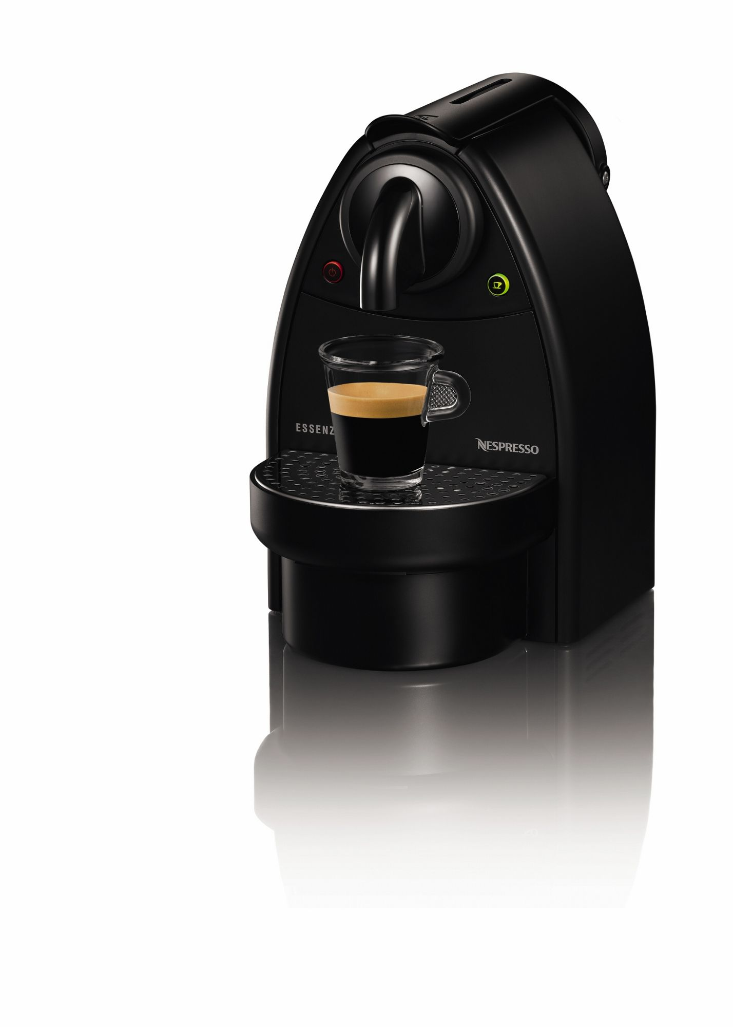 nescafe nespresso essenza by krups xn200340 coffee machine 19 bar pressure black ebay. Black Bedroom Furniture Sets. Home Design Ideas