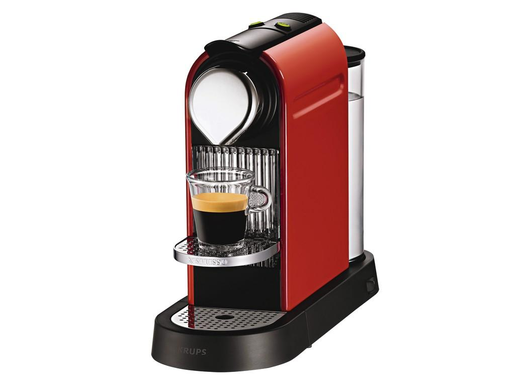 nespresso citiz by krups xn700641 coffee machine fire engine red ebay. Black Bedroom Furniture Sets. Home Design Ideas