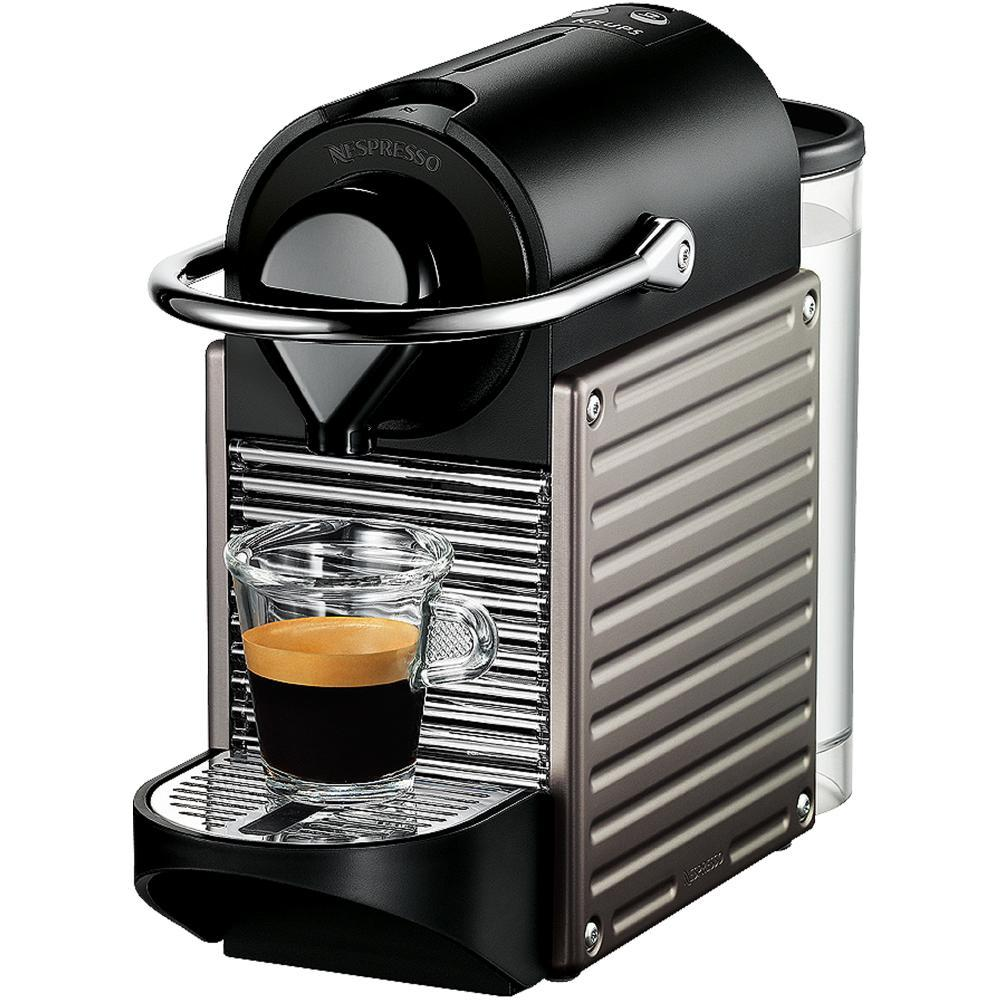 krups xn30054 nespresso pixie coffee machine 19 bar. Black Bedroom Furniture Sets. Home Design Ideas