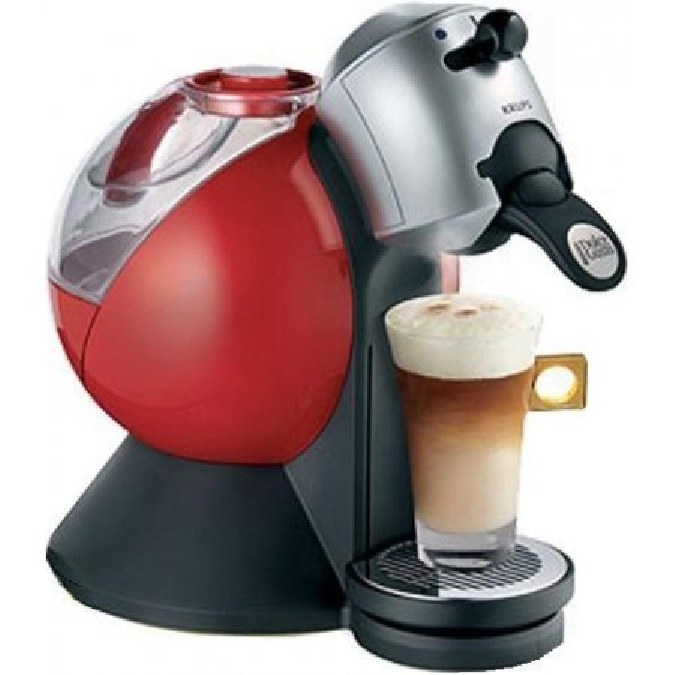 krups nescaf dolce gusto kp200640 coffee machine makes 7 drinks red ebay. Black Bedroom Furniture Sets. Home Design Ideas