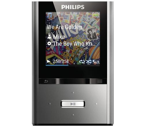 philips gogear mp4 player sa2vbe04k 02 vibe 4gb portable. Black Bedroom Furniture Sets. Home Design Ideas