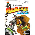 View Item Madagascar KARTZ Game For Nintendo Wii With Custom Stickers Steering Wheel Green