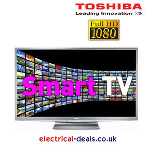 Toshiba Regza 40RL858B 40&quot; Full HD LED TV With Freeview Silver Preview