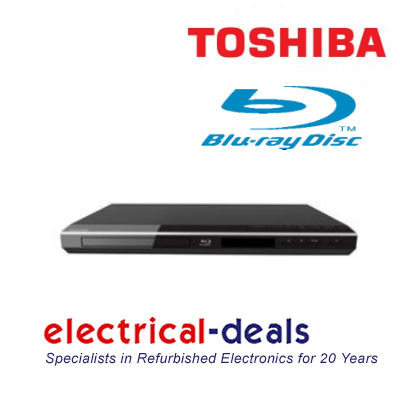 Toshiba BDX1250 Blu-ray Player DVD Upscaling 1080p with BD Live Black Enlarged Preview