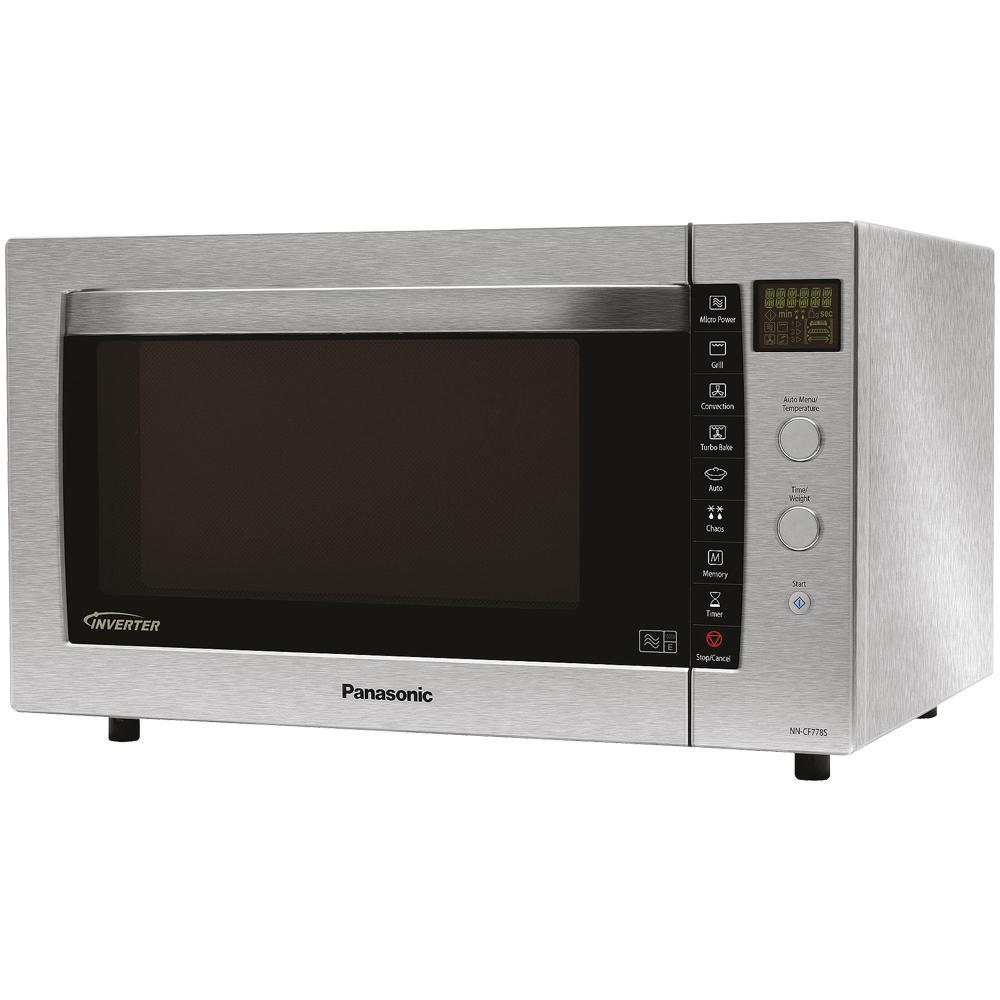 Panasonic NN-CF778SBPQ 27 L 1000 watt Combination Microwave Oven Stainless Steel Enlarged Preview