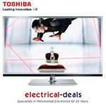 View Item Toshiba 55YL863B 55-inch Widescreen Full HD 1080p 3D LED Wi-Fi TV with Freeview HD