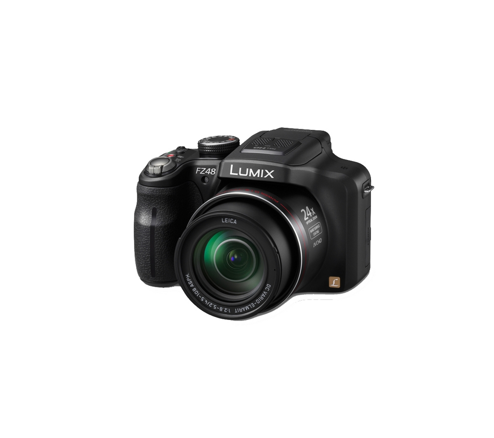 Panasonic DMC-FZ48EB-K 12MP Digital Camera with 24x Zoom 3