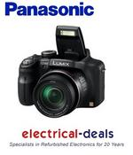 View Item Panasonic DMC-FZ48EB-K 12MP Digital Camera with 24x Zoom 3&quot; LCD Screen Black