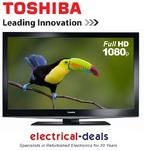 View Item Toshiba 40BL702B 40-inch Widescreen Full HD LED Edge TV with Freeview Black