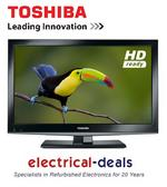View Item Toshiba 19DL502B 19-inch Widescreen HD Ready LED TV with Freeview and DVD Combo