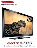 View Item Toshiba 40BV702B 40-inch Widescreen 1080P Full HD LCD TV with Freeview Black