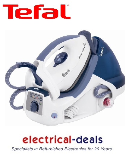 Tefal GV7255 Steam Generation Iron 4.8 Bar 1.4L Water Tank 2200 Watts White/Blue Enlarged Preview