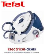 View Item Tefal GV7255 Steam Generation Iron 4.8 Bar 1.4L Water Tank 2200Watt White/Blue