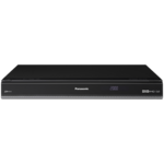 View Item PANASONIC DMRHW100 Twin Freeview + HD Recorder Box 320GB Hard Drive PVR Black