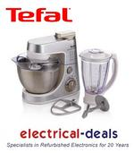 View Item Tefal QB400DA4 Kitchen Machine Stand Mixer 900W 4L Mixing/1.5L Blending Capacity