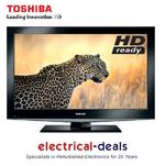 View Item Toshiba 32BV702B 32-inch Widescreen Full HD 1080p LCD TV with Freeview, HDMI &amp; USB.