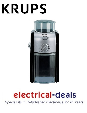 Krups GVX231 Coffee Grinder. 200g Coffee Bean Capacity for between 2 & 12 Cups. Enlarged Preview