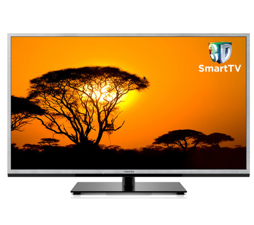 "Toshiba 40TL963B 40"" Smart 3D LED TV. Ft. Internet TV & Freeview HD. WiFi & DLNA Enlarged Preview"