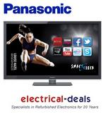 "View Item Panasonic Viera TX-L42ET5B 42"" 1080p HD LED LCD Internet TV. 300HZ. Passive 3D"