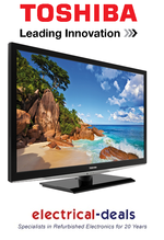 "View Item Toshiba 26EL933B 26"" LED HD Ready TV Ft. Freeview, video, photo & audio playback"