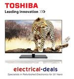 "View Item Toshiba 47VL963B Full HD 47"" Smart 3D LED TV. Freeview HD & Optional WiFi. Black"