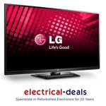 View Item LG 42PA4500 42&quot; HD Ready 600Hz Plasma TV with Freeview. 2 HDMI Ports. Black.