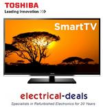 "View Item Toshiba 40RL958B 40"" 1080p Full HD Smart LED TV. Freeview HD, HDMI & USB Inputs."