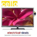 View Item Cello C32224F-DLED TV/DVD Combination 32&quot; LED TV. HD Ready 720p. Freeview &amp; USB