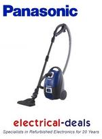 View Item Panasonic MCCG712 Cylinder Vacuum Cleaner. 1400W Eco Max Motor with 420W Suction