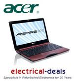 "View Item Acer Aspire One D257-13DQrr 10.1"" Laptop. Intel Atom N455. 1GB RAM/250GB HDD Red"