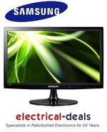 "View Item Samsung 22"" T22B300EW Full 1080p HD LED Monitor with HDMI, USB & SCART Inputs"