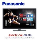 View Item Panasonic TX-L47ET5B 47-inch Widescreen Full HD 1080p 3D LED TV with Freeview HD