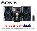 View Item Sony MHCEC79I.CEK Mini System with Docking Station &amp; 3 Way Speekers ft Tweeters