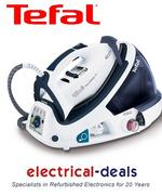 View Item Tefal GV8461 Pro Express Pressurised Steam Generator Iron. 2200W. 6 Bar Pressure