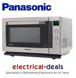 View Item Panasonic NN-CF778SBPQ 27L 1000 Watt Combination Microwave Oven. (Refurbished)