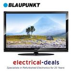 "View Item Blaupunkt 32"" Full 1080p HD. Passive 3D LCD TV Ft. Freeview & USB Mutimedia. Black"