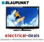 "View Item Blaupunkt BLA-32/188G-GB-5B-FTCU-UK 32"" Full HD 1080p LED TV with Freeview & USB"