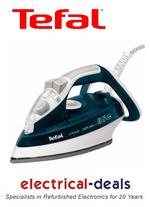 View Item Tefal FV4486 Ultraglide Steam Iron. 2300 Watts. Steam Output 35g/min. 270ml Tank