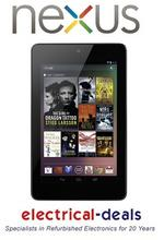 View Item ASUS GOOGLE NEXUS 7&quot; TABLET. Android 4.1 (Jelly Bean) 32GB Capacity. Fts. Webcam