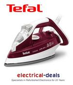 View Item Tefal FV4483 Ultraglide Steam Iron. 2300 Watts. 270ml Tank Capacity. Red & White