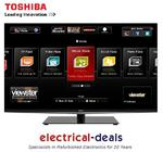 View Item Toshiba 47WL968B LED 3D Smart TV. 47&quot; Full HD 1080p. WiDi. Freeview/Freesat HD